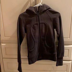 lulu zip up lulu hoodie size 4